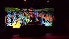 stage back lit