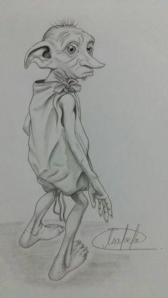 Dobby - Harry Potter  by BellaDiem on DeviantArt
