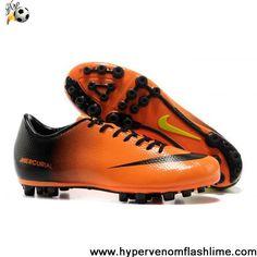 Buy Cheap Orange Black Green Nike Mercurial Vapor IX AG Football Shoes Shop