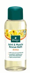 Kneipp Joint & Muscle Rescue Bath, with valuable active ingredients of the arnica blossom and aroma-intensive essential pine oils, is specially suited for use after physical activities. It helps relieve joints and muscles. The whole body benefits from its revitalizing, soothing and warming effects. Additional sunflower oil moisturizes skin.