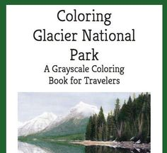 Coloring Glacier National Park is the next best thing to being in this beautiful national park in Montana. Thirty-four grayscale images include scenic landscapes, wildlife and nature close-ups.