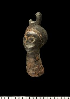 Strange Viking Possibly part of Beading / Tweezers?  Copper Alloy. HOLTER ØSTRE, Norway.
