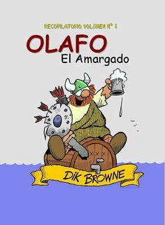 Revistas Mexicanas Comics De Amor   Olafo El Amargado, Recopilatorio no. 1, E.U.A., 1973, Español ...