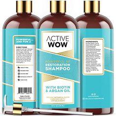 Hair Regrowth Shampoo, Biotin Shampoo, Hair Loss Shampoo, Organic Shampoo, Organic Oil, Wow Hair Products, Healthy Scalp, Healthy Hair, New Hair Growth