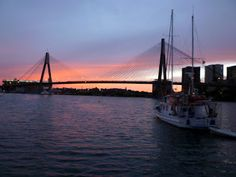 Anzac Bridge in Sydney