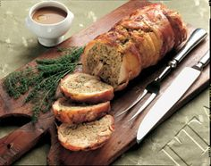 """Rabbit """"in porchetta"""" : here we always have been eating rabbit .   The Anglo-Saxon fashion to keep it as a pet, this came only in recent years. Believe me that is good and its white meat is very delicate. Try it!"""