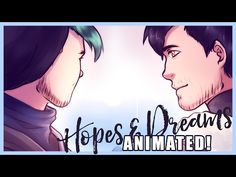 awesome Markiplier & Jacksepticeye ANIMATED FAN ART | HOPES & DREAMS | Relaxing sounds of nature and piano