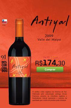 Vinho Antiyal Blend 2009 http://www.buywine.com.br/vinho-antiyal-blend-2009/p