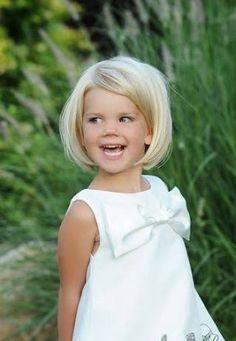 Risultati immagini per short toddler girl haircuts