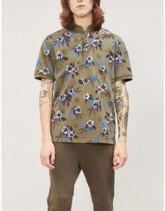 Mens South Shore Summer Beach Print Crew Neck T-ShirtClearance Item
