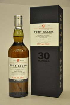 Port Ellen whisky - 1979 - 9th release / 30 years old