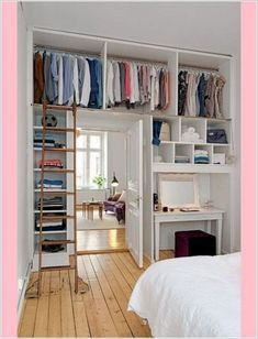What can you do if you have a small bedroom and you want to create a luxury feel? Well, small bedroom ideas can help. The reality is it is not easy to work with a small bedroom but we do… Continue Reading → Small Apartments, Small Spaces, Small Bedroom Designs, Design Bedroom, Suites, Trendy Bedroom, Modern Bedroom, Minimalist Bedroom Small, Contemporary Bedroom