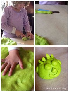 Microwave Playdough- the easiest way to make playdough that lasts forever!