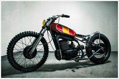 1976 YamahaDT400 - Pipeburn - Purveyors of Classic Motorcycles, Cafe Racers & Custom motorbikes