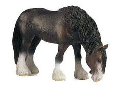 Schleich Horse: Shire Mare (with Tag!)