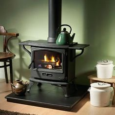 Woodburning stove with cooktop