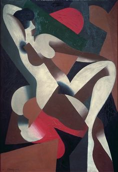 René Magritte,Donna,1923