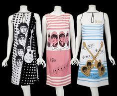 The Beatles Shift Dresses