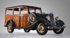 1934 Ford V-8 Station Wagon