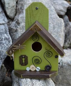 Hey, I found this really awesome Etsy listing at http://www.etsy.com/listing/158459034/birdhouse-hand-made-exclusive-designer