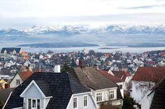 roofs, stavanger, and norway image Stavanger Norway, Scandinavian Countries, North Sea, Travel Memories, San Francisco Skyline, Places To See, Mists, The Good Place, Europe