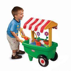 2 In 1 Garden Cart U0026 Wheelbarrow From #littletikes   $39.99