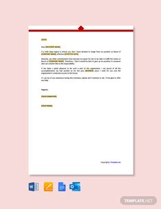 Instantly Download Free Non Profit Board Resignation Letter Template, Sample & Example in Microsoft Word (DOC), Google Docs, Apple Pages Format. Available in A4 & US Letter Sizes. Quickly Customize. Easily Editable & Printable.