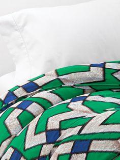 Zig Zag Duvet by Diane von Furstenberg Bedding on Gilt Home