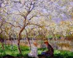 Impresionismo, Primavera de Claude Monet. 1886
