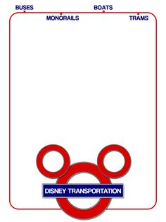 """Disney Transportation - Project Life Journal Card by pixiezilla - Scrapbooking ~~~~~~~~~ Size: 3x4"""" @ 300 dpi. This card is **Personal use only - NOT for sale/resale** Disney Transportation/ears motif belong to Disney. Concept inspired by WDW Focus' amazing Subway style map www.wdwfocus.com/map/ . Sign and overall design are based on London Underground's logo and tube maps. Font is Coolvetica www.dafont.com/coolvetica.font *** Click through to photobucket for more versions of this card ***"""