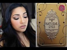 NEW Hard Candy NATURAL EYES Neutral Eyeshadow Palette FIRST IMPRESSIONS + Makeup Tutorial + Swatches - YouTube