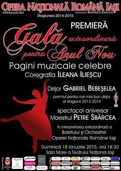 """""""Gala pentru Anul Nou"""" la Opera Nationala Iasi"""