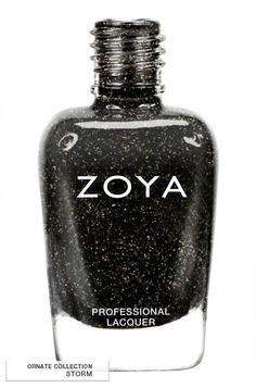 Collection Winter ORNATE 2012 - 2013 : Storm. Une couleur somptueuse qui prône l'élégance, la sobriété et la puissance. #zoya