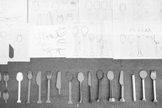 S T A M P, DRAWINGS, OUTLINE, MODELS, PAPERMODELS, SCALEMODELS, CUTLERY, DISHES, BAMBOO, 8pandas