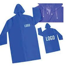This rain poncho comes in a longer length that can cover your knees. A great promotional item for water events or theme parks. Can…