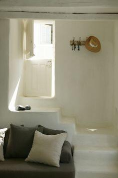 Traditional Greek Island Home