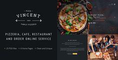 Vincent – Restaurant Pizza Cafe and Online Delivering - Restaurants & Cafes Entertainment Download here : https://themeforest.net/item/vincent-restaurant-pizza-cafe-and-online-delivering/19220268?s_rank=189&ref=Al-fatih