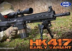 Tokyo Marui HK417 Early Variant Review