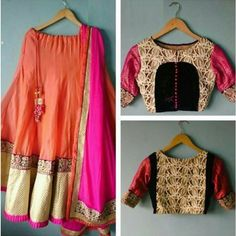 Designer Bhagalpuri Silk Lehenga Choli