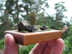 1/285 scale diorama