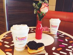 You never need reservations for Dunkin'!