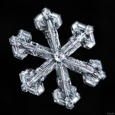 Ever wonder why snowflakes have six sides? Not 8, not 5, but always six (unless…