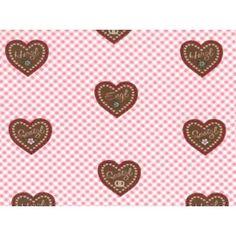 Jersey Eigenproduktion KDS Herzilein rosa