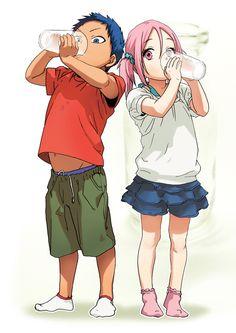 kuroko no basket funny | this is too cute kuroko no basuke kuroko no basket Aomine Daiki Momoi ...