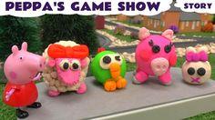 Peppa Pig Game Show Play Doh Surprises Story Lalaloopsy- Shopkins Hello ...