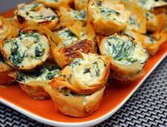The most amazing appetizer I have ever tasted. Spinach dip bites…. | Fashion's Most Wanted