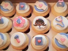 Doc McStuffins Inspired Fondant Cupcake/Cookie Toppers. $20.00, via Etsy.