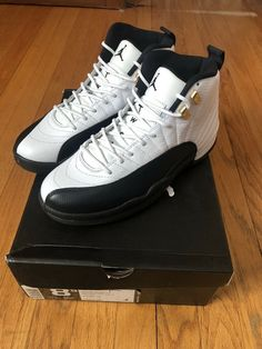 d7b0268957c Jordan 12 Taxi #fashion #clothing #shoes #accessories #mensshoes  #athleticshoes (ebay link)