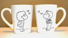 Resultado de imagen para tazas personalizadas de amor originales