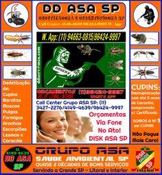 Dedetizadoras SP 11 3427-2276/96424-9997(W. App)/4149-4639/96424 9997 What's App…